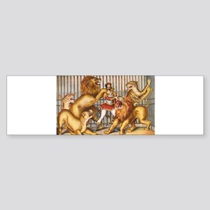 circus art Bumper Sticker