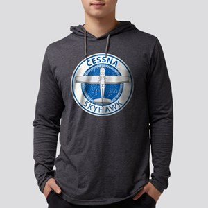 Aviation Cessna Skyhawk Long Sleeve T-Shirt