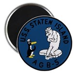 """USS Staten Island (AGB 5) 2.25"""" Magnet (10 pack)"""
