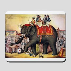 circus art Mousepad