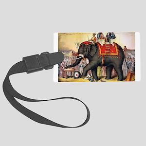 circus art Luggage Tag