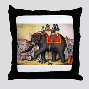 circus art Throw Pillow