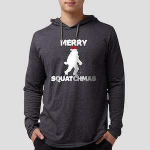 Merry Squatchmas Long Sleeve T-Shirt