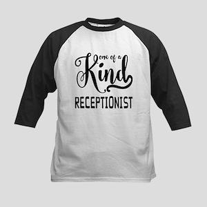 One of a Kind Receptionist Kids Baseball Jersey