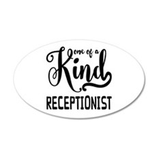 One of a Kind Receptionist Wall Decal