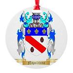 Napolitano Round Ornament