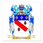 Napolitano Square Car Magnet 3