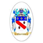 Napolitano Sticker (Oval)