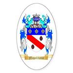 Napolitano Sticker (Oval 50 pk)