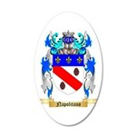 Napolitano 20x12 Oval Wall Decal