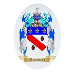 Napolitano Oval Ornament