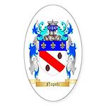 Napoli Sticker (Oval 50 pk)