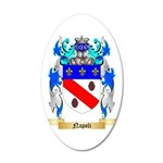 Napoli 35x21 Oval Wall Decal