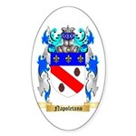 Napoletano Sticker (Oval 50 pk)