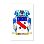 Napoletano 20x12 Wall Decal