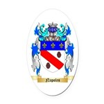 Napoles Oval Car Magnet