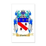Napoles 20x12 Wall Decal