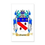 Napoles 35x21 Wall Decal