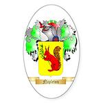 Napleton Sticker (Oval 50 pk)