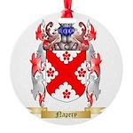 Napery Round Ornament