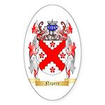 Napery Sticker (Oval)