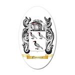 Nannuzzi 20x12 Oval Wall Decal