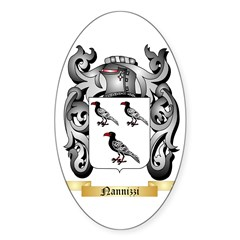 Nannizzi Sticker (Oval 10 pk)