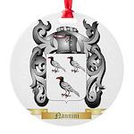 Nannini Round Ornament