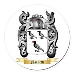 Nannetti Round Car Magnet