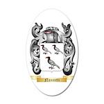 Nannetti 35x21 Oval Wall Decal