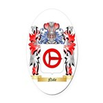 Nale Oval Car Magnet