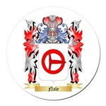 Nale Round Car Magnet