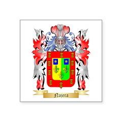 Najera Square Sticker 3