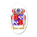 Naismith 35x21 Oval Wall Decal