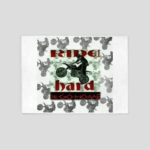 Ride Hard 5'x7'Area Rug