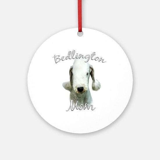 Bedlington Mom2 Ornament (Round)