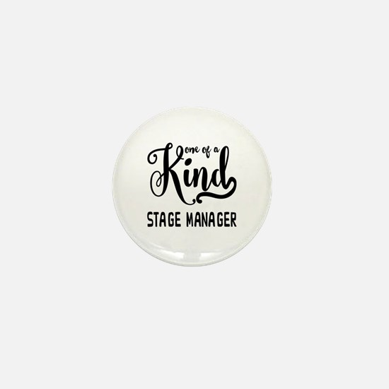 One of a Kind Stage Manager Mini Button