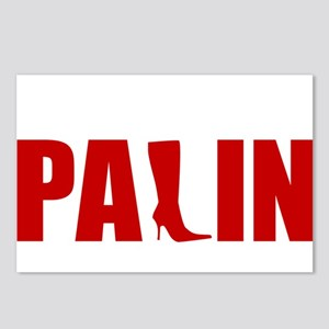PALIN HIGH HEELS Postcards (Package of 8)
