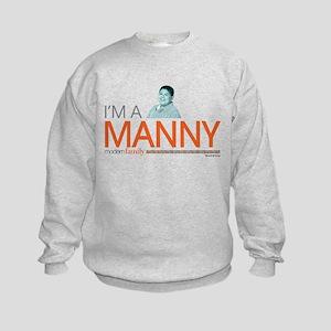 Modern Family I'm a Manny Kids Sweatshirt