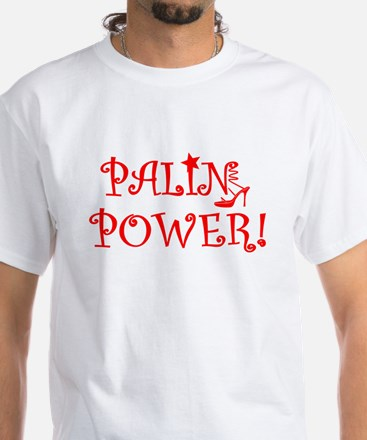 PALIN POWER bright red T-Shirt