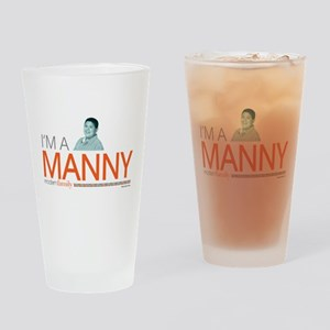 Modern Family I'm a Manny Drinking Glass