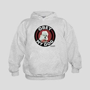 Obey My Dog Kids Hoodie