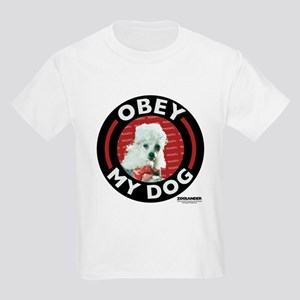 Obey My Dog Kids Light T-Shirt