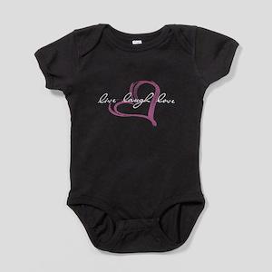 live laugh love Baby Bodysuit