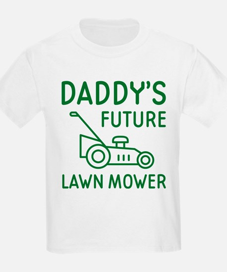 Daddy's Future Lawn Mower T-Shirt