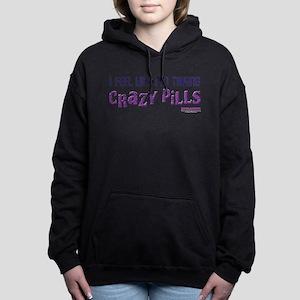 Crazy Pills Women's Hooded Sweatshirt