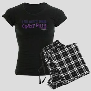 Crazy Pills Women's Dark Pajamas