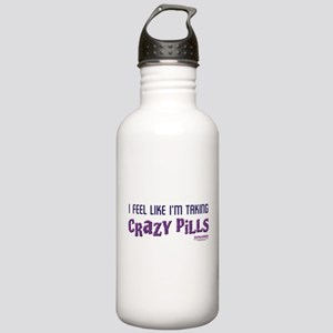 Crazy Pills Stainless Water Bottle 1.0L