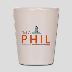 Modern Family I'm a Phil Shot Glass