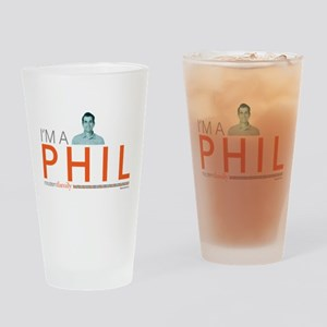 Modern Family I'm a Phil Drinking Glass